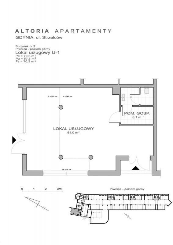 Karta lokalu Gdynia, 2 Morskiego Pułku Strzelców nr AA/US/11/U1
