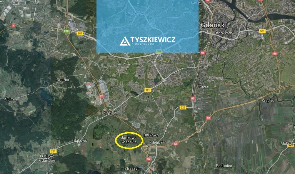Zdjęcie 3 oferty TY378645 Jankowo Gdańskie, ul. Podgórna