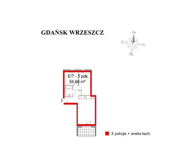 Zdjęcie 2 oferty TY184094 Gdańsk, ul. Tadeusza Kościuszki