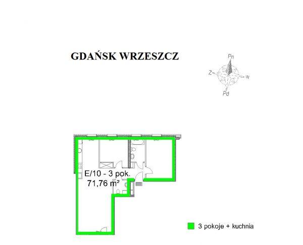 Zdjęcie 2 oferty TY640012 Gdańsk, ul. Tadeusza Kościuszki