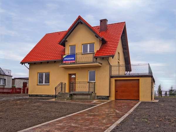 Dom wolno stojący na sprzedaż, Pępowo