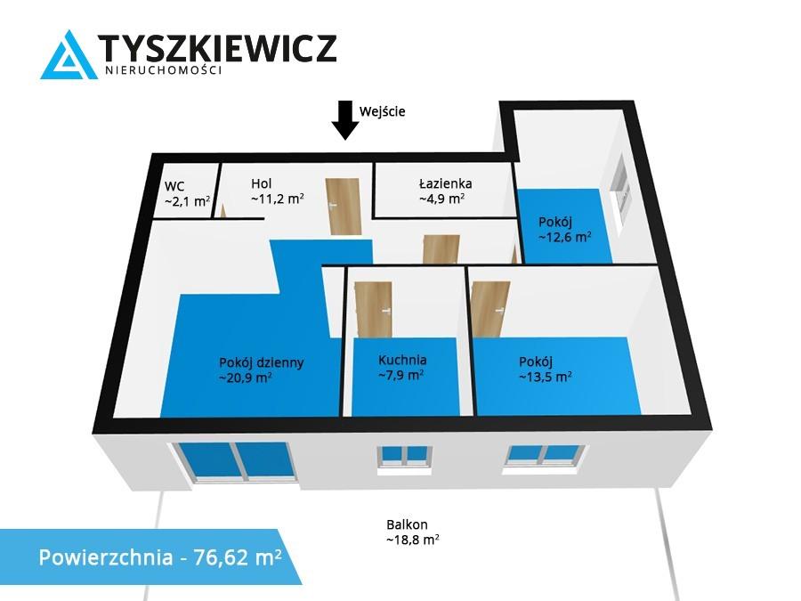 Zdjęcie 14 oferty TY436825 Gdynia Orłowo, ul. Bernadowska