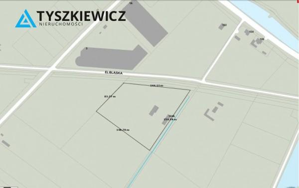 Działka przemysłowa na sprzedaż, Gdańsk Rudniki