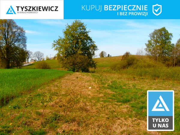 Działka pod bud. 1-rodz. na sprzedaż, Sierakowice
