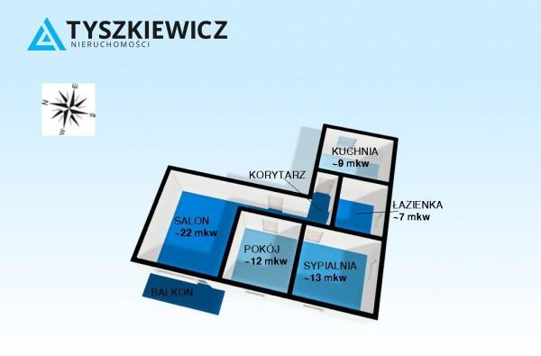Zdjęcie 3 oferty TY072277 Gdynia Obłuże, ul. Perłowa