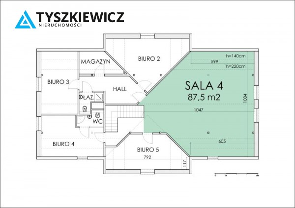 Zdjęcie 7 oferty TY060569 Gdańsk Wrzeszcz, ul. Konrada Leczkowa