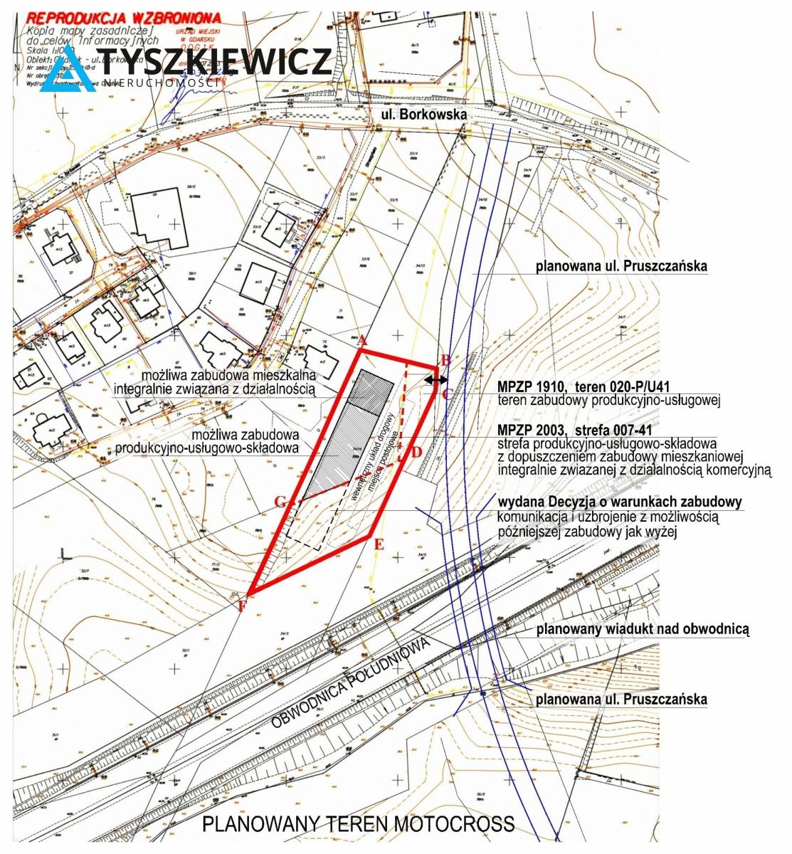 Zdjęcie 4 oferty TY840246 Gdańsk Lipce, ul. Borkowska