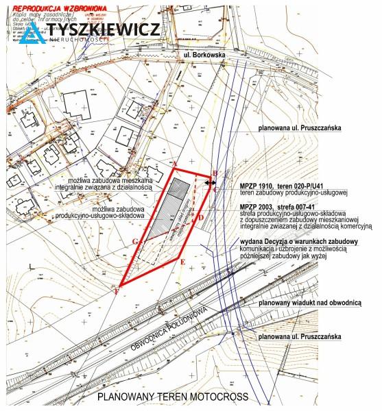 Zdjęcie 5 oferty TY840246 Gdańsk Lipce, ul. Borkowska
