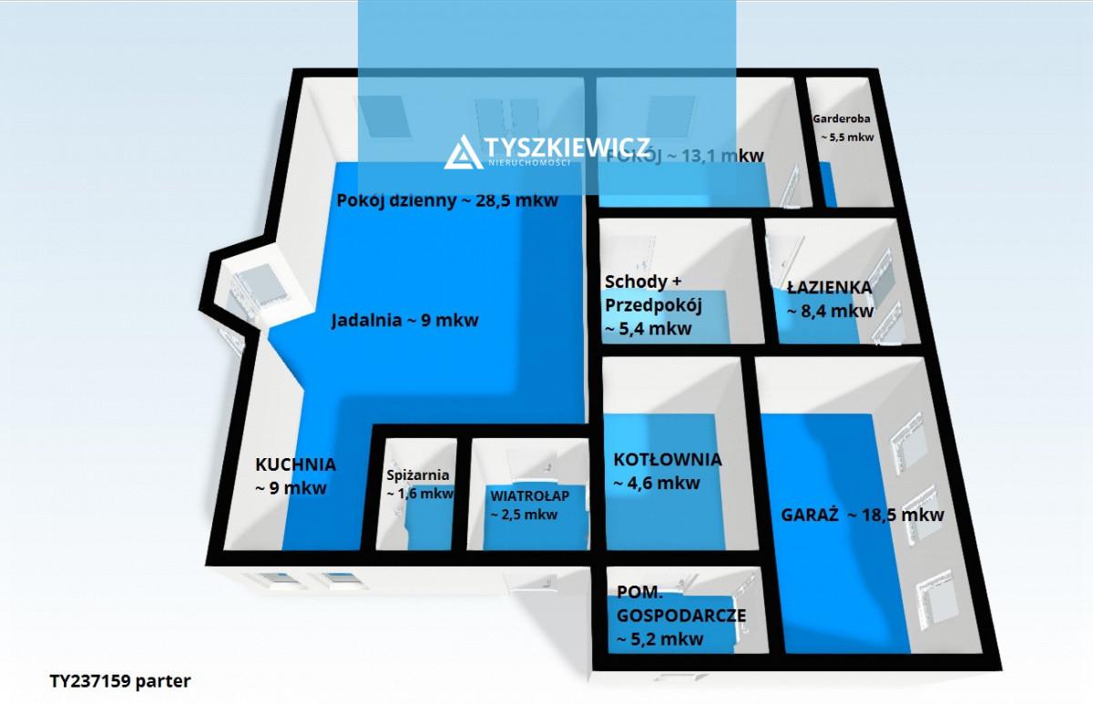 Zdjęcie 21 oferty TY237159 Gdańsk Kiełpino Górne, ul. Sierakowicka