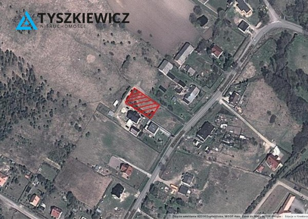 Działka pod bud. 1-rodz. na sprzedaż, Kleszczewo