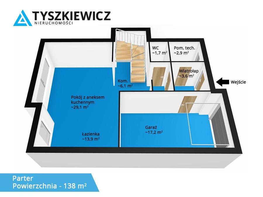 Zdjęcie 21 oferty TY468066 Gdynia Witomino-Leśniczówka, ul. Łąkowa