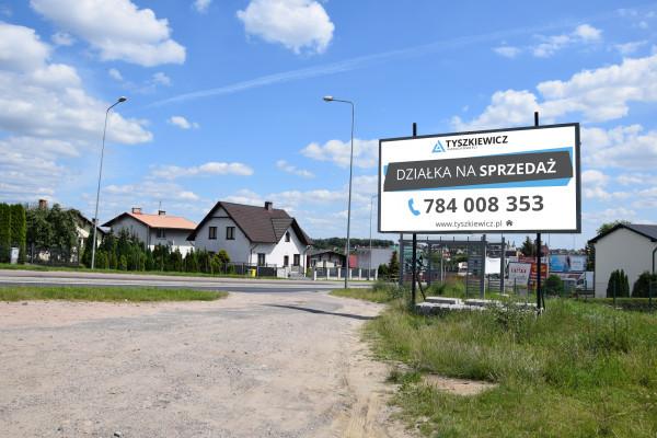 Działka bud. wielorodz. na sprzedaż 21557