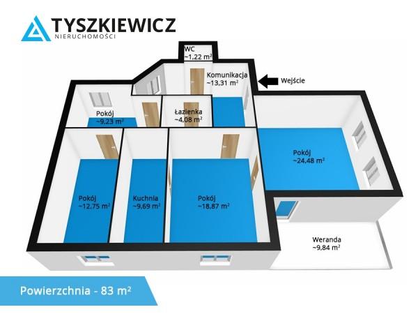 Mieszkanie na sprzedaż TY547107