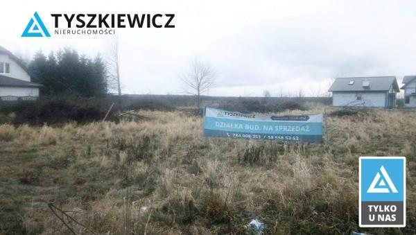Działka pod bud. 1-rodz. na sprzedaż, Karwieńskie Błoto Pierwsze